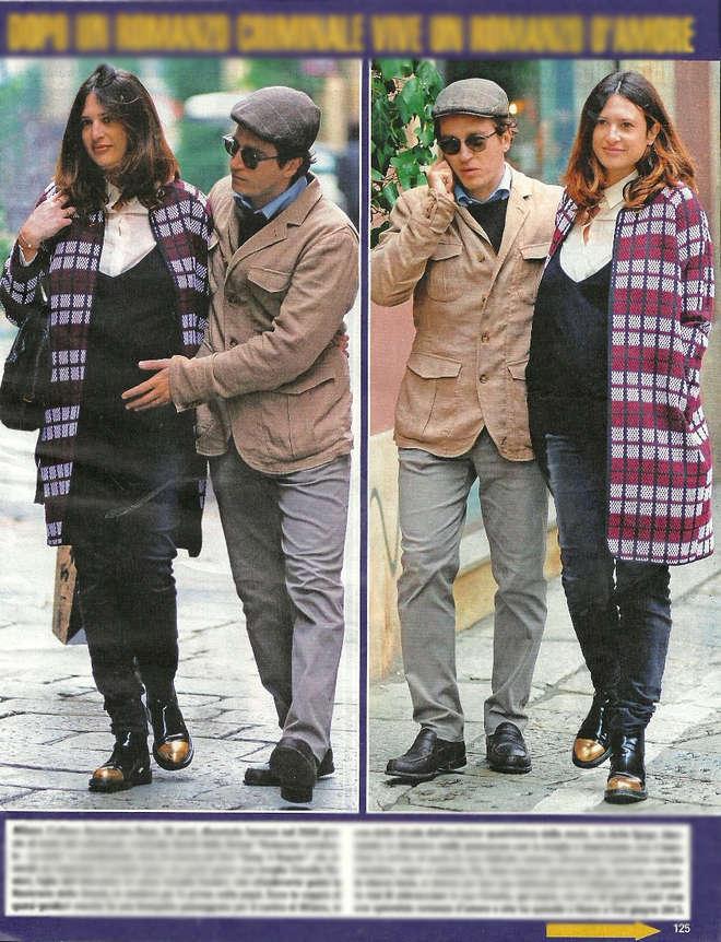 """Alessandro Roja, da """"criminale"""" a papà: la moglie Claudia Ranieri col pancione"""