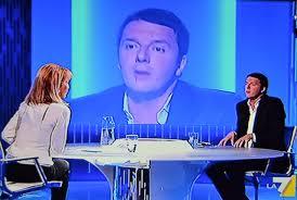 """Lilli Gruber torna a """"Otto e mezzo"""" con Renzi. Lineamenti cambiati: cosa è successo al viso?"""