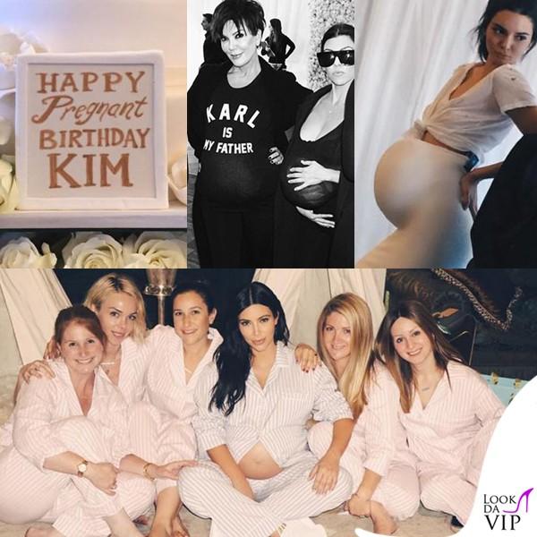Kim-Kardashian-Pregnant-birthday-e-Baby-shower