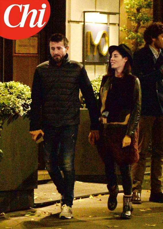 Max Biaggi e Bianca Atzei a cena