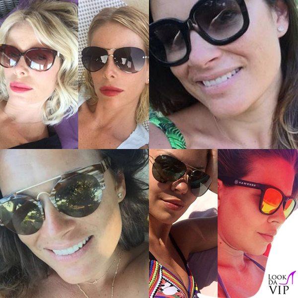Alessia-Marcuzzi-Alena-Seredova-Costanza-Caracciolo-occhiali-da-sole