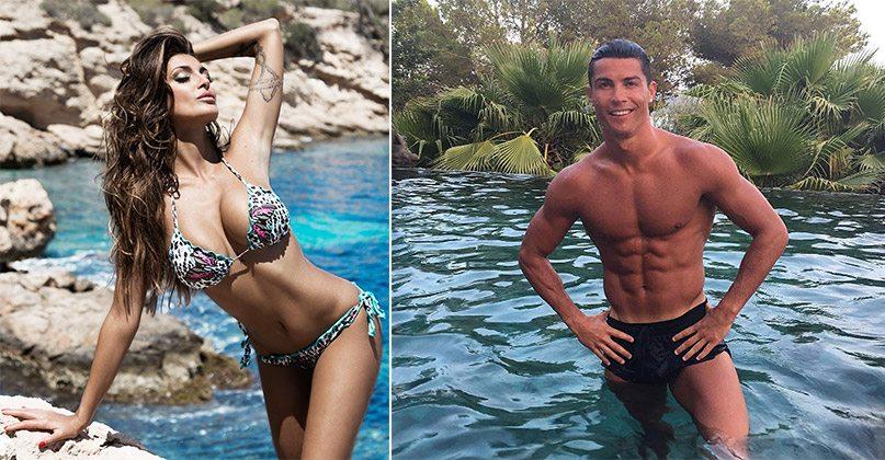 Cristina-Buccino-e-Cristiano-Ronaldo