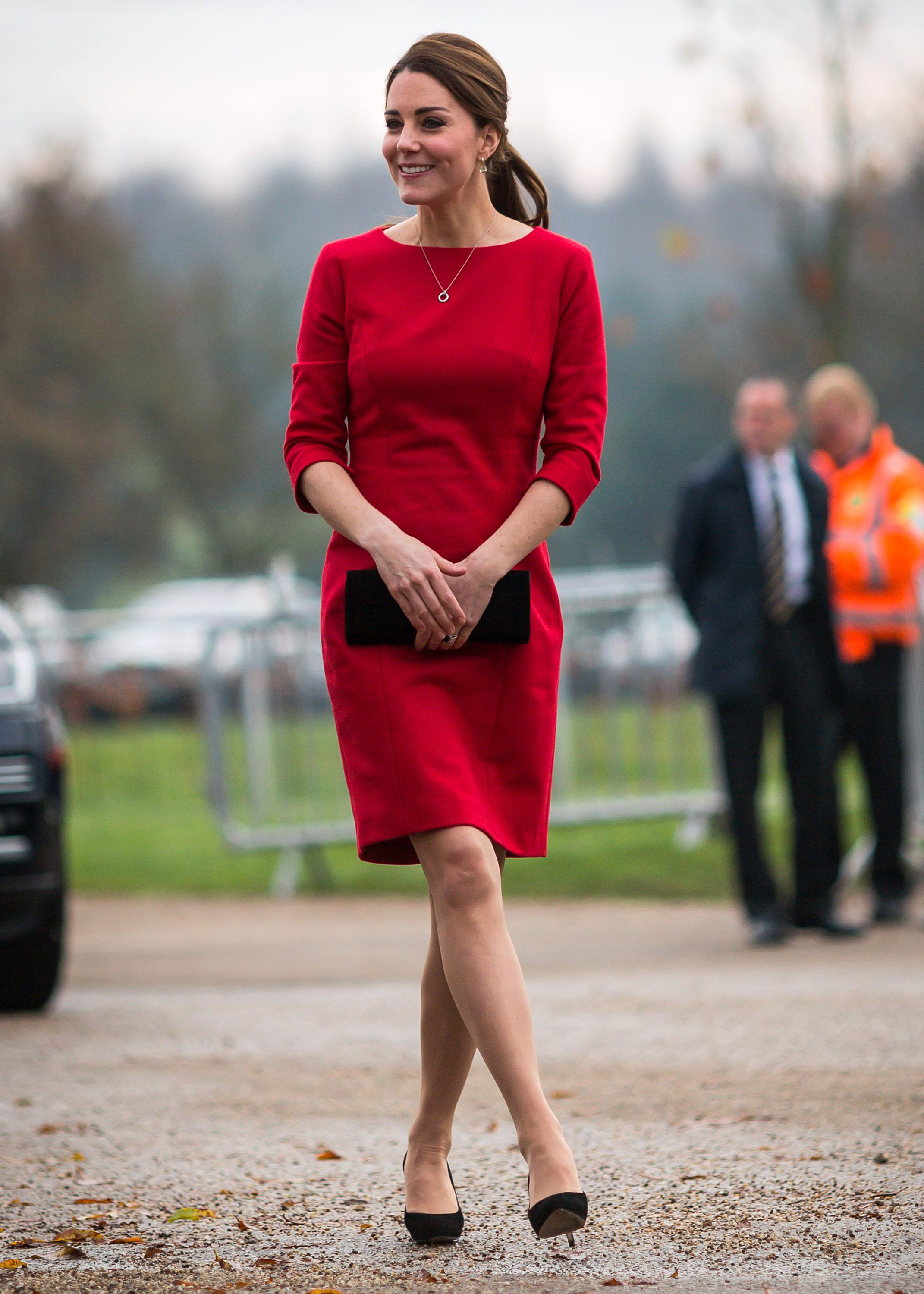 The Duchess of Cambridge attends the East Anglia's Children's Hospices Norfolk Capital Appeal launch at the Norfolk Showground, Norwich, Norfolk, UK on November 25, 2014. Picture by Paul Rogers/NMA-Pool Pictured: Duchess of Cambridge, Catherine, Kate Middleton Ref: SPL897303  251114   Picture by: Splash News Splash News and Pictures Los Angeles:	310-821-2666 New York:	212-619-2666 London:	870-934-2666 photodesk@splashnews.com